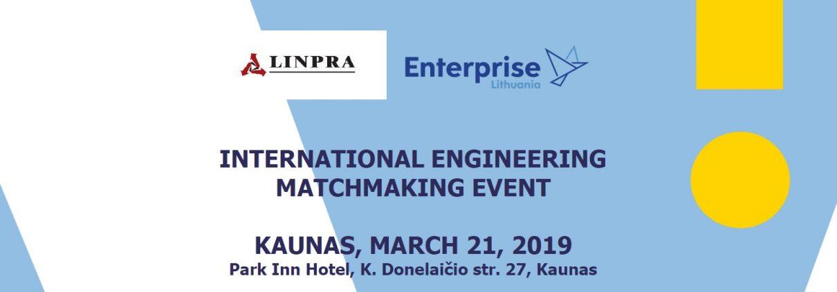 International matchmaking event